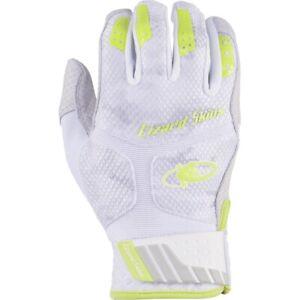 Lizard Skins Youth Komodo Pro Batting Gloves Pair NEON   CAMO  LG