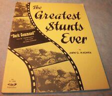 GREATEST STUNTS EVER John G. Hagner SIGNED LOREN JANES 1st edition 1967 bullitt