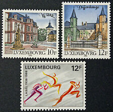 Timbres / Stamp LUXEMBOURG Yvert et Tellier n°1151 à 1153 nsg (cyn10)