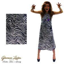 Zebra Print tinintg Peluquería Delantal agua y tinte escandalosa, cuatro bolsillos