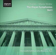 Charles-Marie Widor: The Organ Symphonies, Vol. 1 (CD, May-2012, Signum...