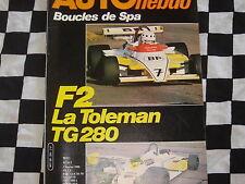 auto hebdo n°201 1980 RALLYE BOUCLES SPA + SERRE CHEVALIER + MONTE CARLO