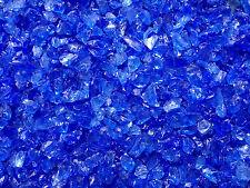 """Light Blue Fire Glass 1/4""""-3/8"""" Size 2"""