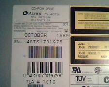 Plextor CD-ROM Drive PX-40TSi Oct1999 1010 121-3669-00 UltraPlex 40max SCSI