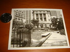 Singapore, 1974 Scenic View of Raffles Place, Rare Black/White Photograph