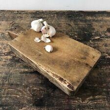 Vintage Colgante Mango Wood alimentos de corte rebanado hierba picar Board en las piernas Peg