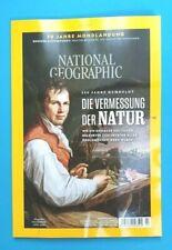 National Geographic Juli 2019  Die Vermessung der Natur  ungelesen 1A abs.TOP