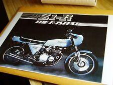 Z1R POSTER KAWASAKI KZ1000 D KZ 1000 Z1-R THE FASTEST 1978 LTD Z1 MKII Z1900 TC