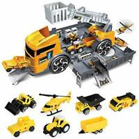 LBLA Toy Cars Construction Vehicles Set,Toys for 3+ Years Old Boys,Transport Car