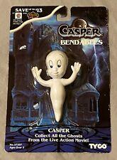 1995 Universal City Studios Casper the Friendly Ghost Bendable Figure Tyco / Nip