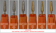ToDacUSA CARBIDE NAIL DRILL BIT FOR PRO: MEDIUM CONE SHAPE DRILL BIT