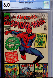 Amazing Spider-Man #38 CGC 6.0 WHITE pages   2nd appearance  of Mary Jane