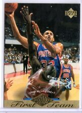 GRANT HILL 1995-96 Upper Deck Electric Court #156 ($.50 SHIPPING)