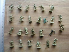 US ARMY MEN WW2/39-45 AIRFIX ? ATLANTIC ?    1/72 MINIATURE  #M296