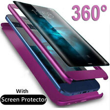 Funda Protectora Completo 360 para Samsung Galaxy Note 9 5/S6 S7 Edge S8 S9 Tapa Dura