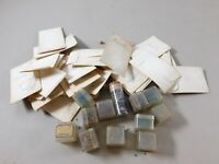 Lot of Vintage Plastic Craft Crystals for Arts and Crafts Supplies
