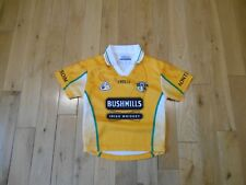 O'NEILLS Aontroim ANTRIM Irish Hurling Gaelic Football Jersey Kit Toddler 3-4