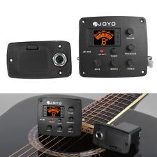 JOYO JE-306 5-Band EQ Equalizer Akustikgitarre Piezo Pickup Preamp Tuner L7R8