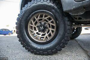 18 Inch ISUZU DMAX Wheels MUX Rims 18x9 PCD 6x139.7 ET 0 HARTES METAL Monster