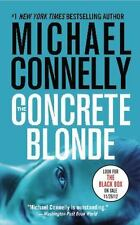 The Concrete Blonde by Michael Connelly FREE SHIPPING Harry Bosch paperback book