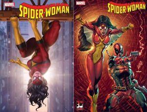 🕷 SPIDER-WOMAN #16 SET NM SPIDER-MAN VENOM CARNAGE IRON MAN AVENGERS DEADPOOL