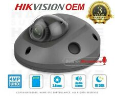 Hikvision OEM IP 4MP Gray Mini Dome w/ Audio I/O for DS-2CD2543G0-IS Gray/2.8mm