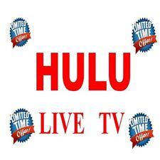 HULU LIVE TV    PRIVATE   2 YEARS WARRANTY