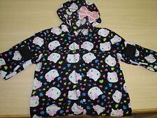 Hello Kitty One Piece Adult Pajamas Pajama with Hoodie Size L Large 15/17