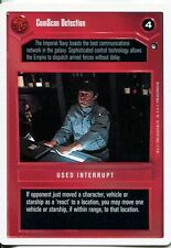 Star Wars CCG Hoth White Border ComScan Detection