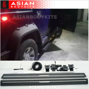 for Hummer H2 SIDE STEP ELECTRIC Deployable running boards power step (2003-09)