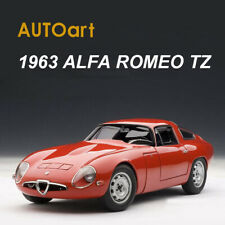 AUTOart 1:18 Scale 1963 ALFA ROMEO TZ Red Die-Cast Model Car Model Collection