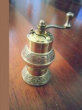 "Traditional SOZEN Turkish Handmade Pepper Grinder Mill ISTANBUL Brass 11cm 4.1"""