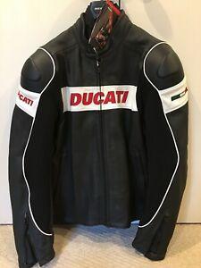 "Dainese Ducati Leather ""Hi-Tech"" Motorcycle Jacket, NLA, Rare!"