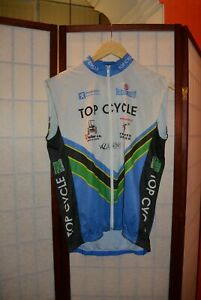 Top cycle  cycling jersey Peugeot  Marcello Bergamo vest jersey . ALY