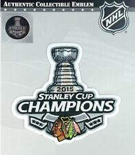 2015 Official Chicago Blackhawks Champions NHL Stanley Cup Finals Patch Jersey