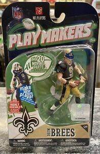 NFL Playmakers Drew Brees Action Figure by McFarlane NIB