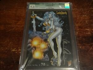 Lady Death Icon #1 Sly Edition 72/88 CGC 9.6 Qualified Brian Pulido Very Rare
