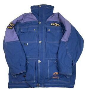 Vintage Rip Curl Altitude High Jacket Delfy 1000 Waterproof Snow Hood Size XL