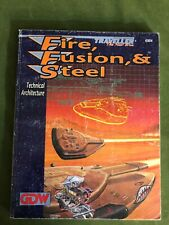 Fire, Fusion & Steel - Traveller : The New Era sci-fi roleplaying book GDW 1993