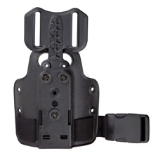 NEW! 9006494 Safariland 6004 Single Strap Leg Shroud with DFA black 6004-25-2