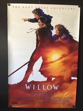 Willow Original Movie Poster (Lucasfilm, 1987) - 27 x 40 High Grade VF to NM