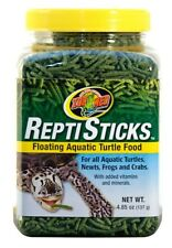 Zoo Med Repti Sticks Floating Aquatic Turtle Food Vitamins and Minerals 4.85oz
