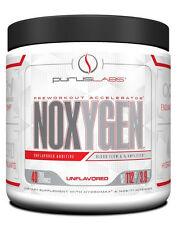 Purus Labs NOXYGEN Stimulant-Free Nitric Oxide Booster N.O. + FREE SHIPPING