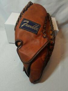 Vintage  Mitt / Baseball Glove Genuine Cowhide - Franklin mize model rare