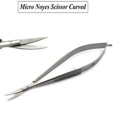 Surgical Micro Dental Curved Noyes Scissor Spring Action Medical Scissors Labor