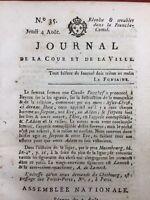 Bayeux 1791 Franche Comté Marie Antoinette Comte d'Artois Royalisme Bailly