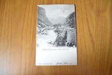 CARTOLINA STRADA DEL SEMPIONE PONTE DELL' ORCO VIAGGIATA 1903 SUBALPINA W
