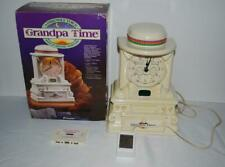 Grandpa Time Story Telling Clock Cord Cassette Box AS-IS for Repair or Parts