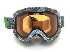 SPY+ Optic ZED Snow Goggle DCP08 Light Blue/Gray Frame w Bronze & Persimmon Lens
