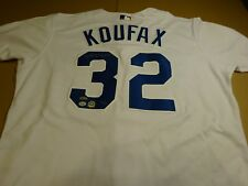 Sandy Koufax Dodgers Signed Auto Jersey #30/32 Steiner Certified Autograph